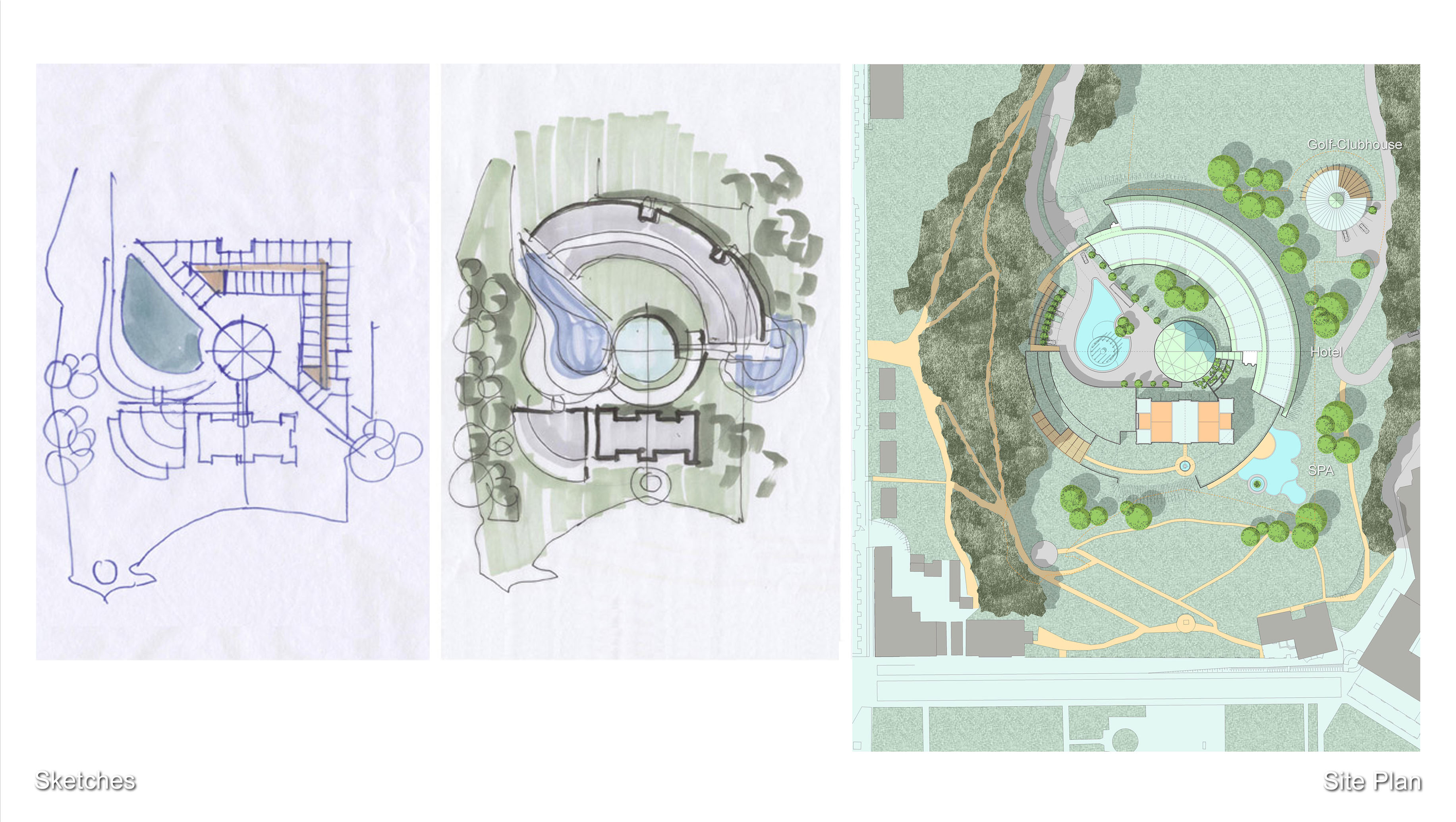 4_Sketches, Site Plan
