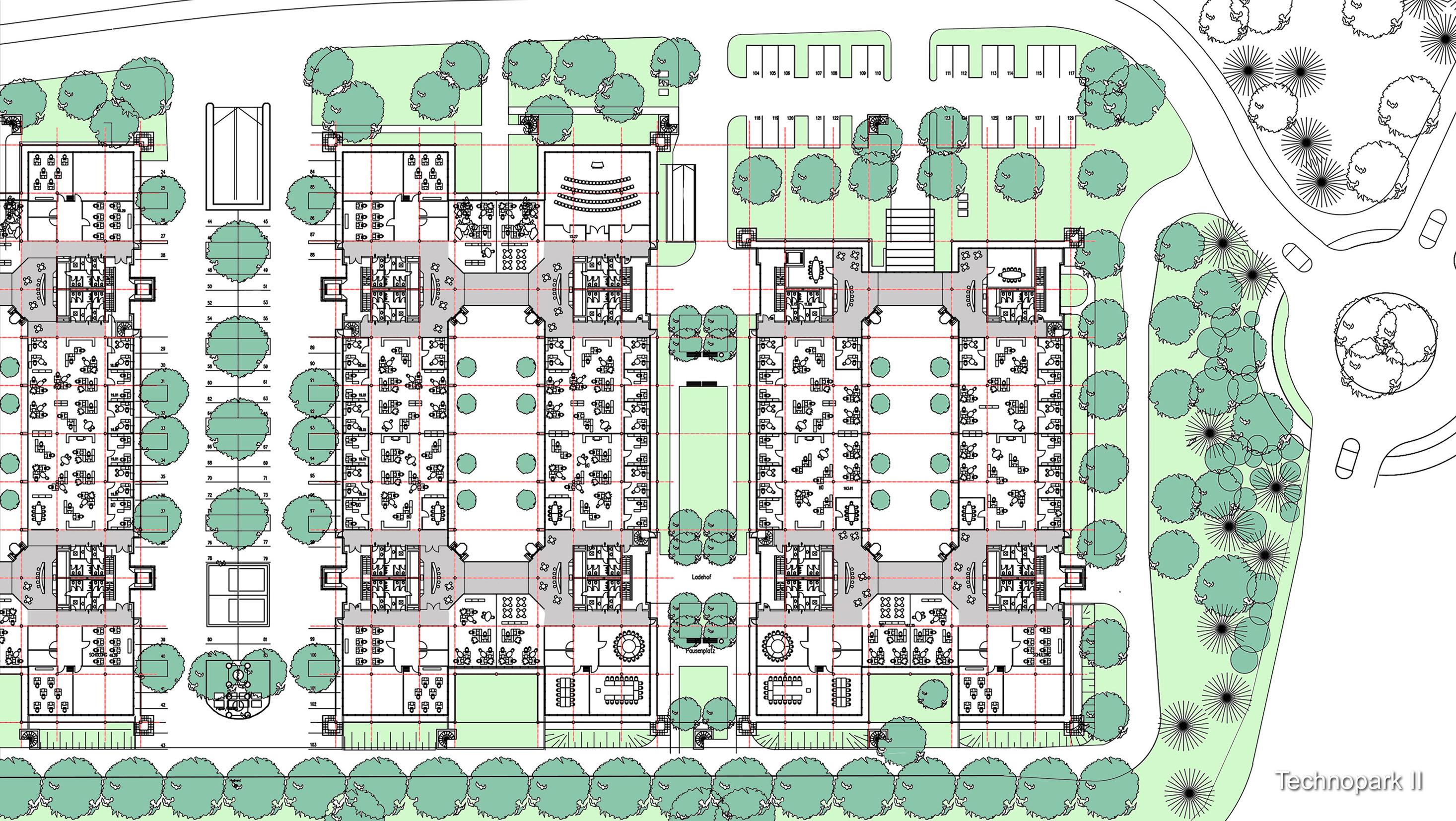 7_Technopark II Grundriss