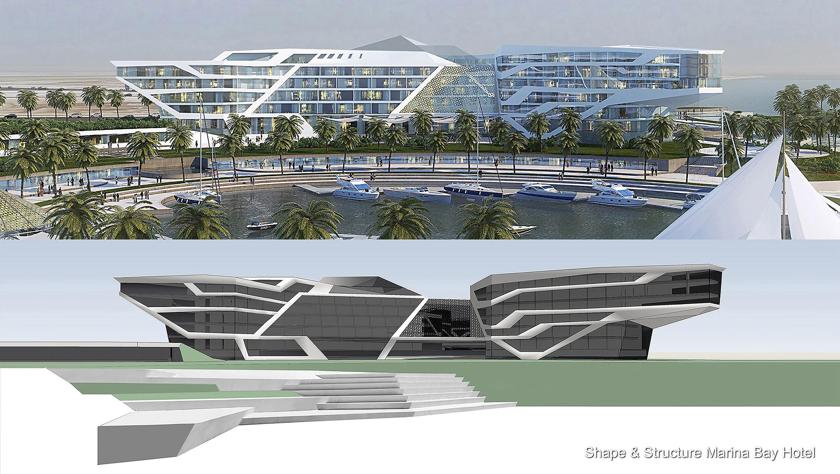 9_Structure Marina Bay Hotel