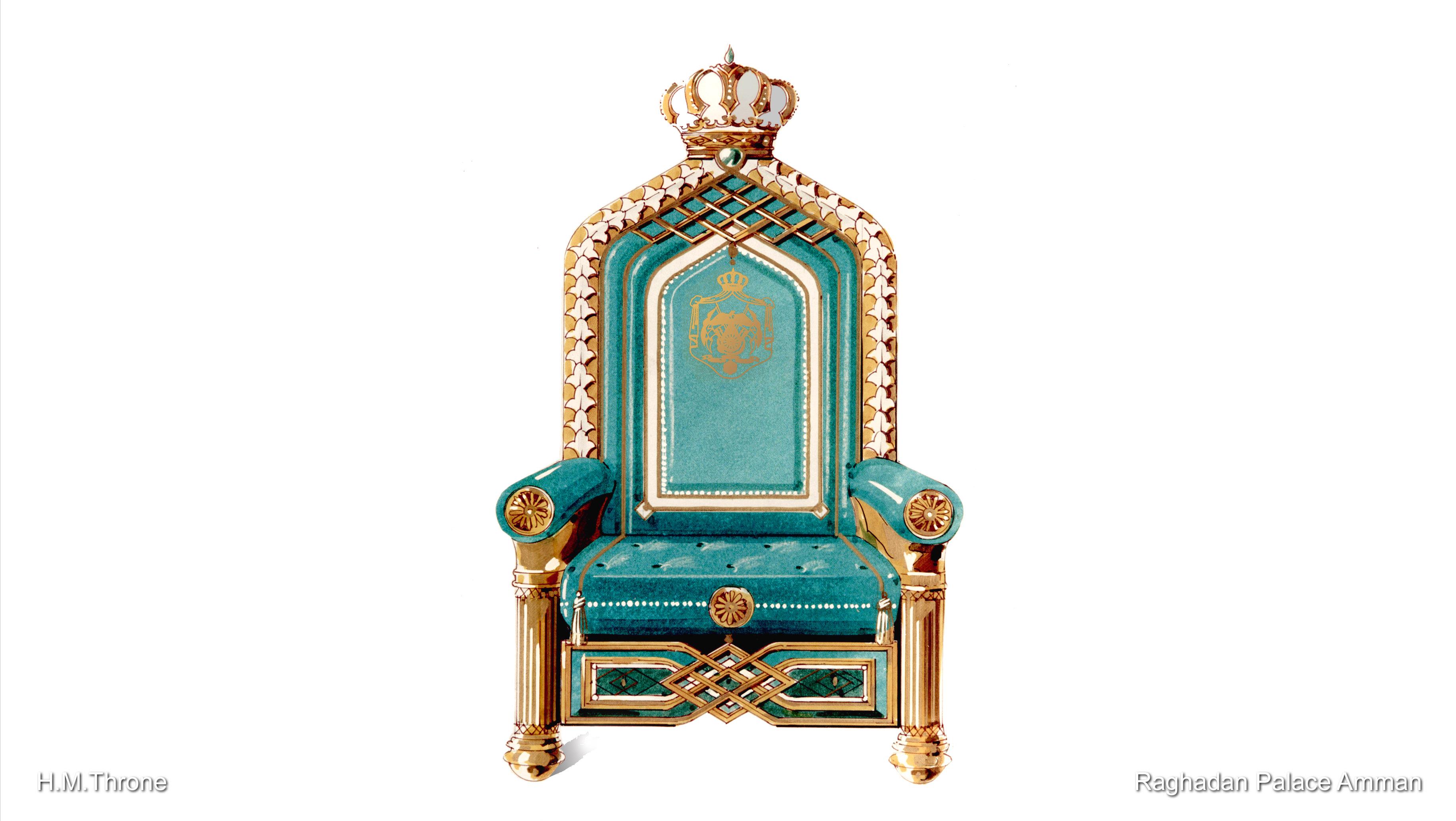 10_RP Amman H.M. Throne